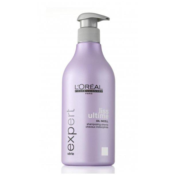 Serie Expert Liss Ultime Shampoo (U.) 500 ml.