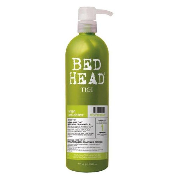Tigi Urban Antidotes Re-energize Shampoo nr. 1 750 ml.