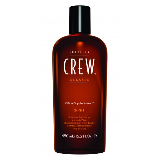 American Crew 3-In-1 Shampoo 450 ml.