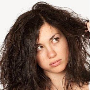 Groft, uregerligt og kruset hår