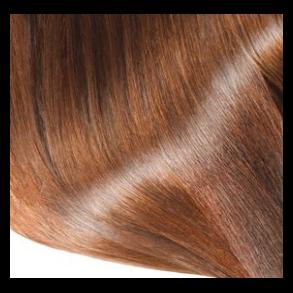 Farvet hår