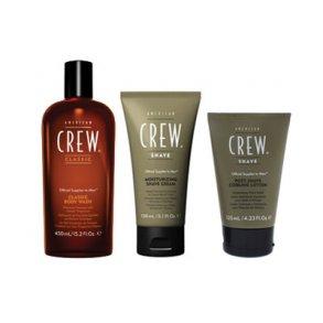 American Crew - shave, body mm.