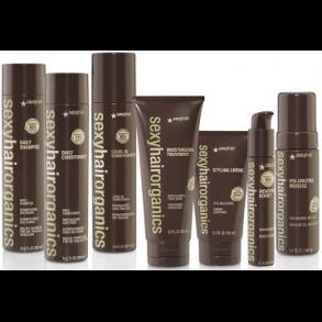 Organics Sexy Hair - organiske og skånsomme produkter