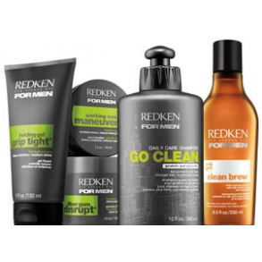 Redken For Men - vask og styling til mænd