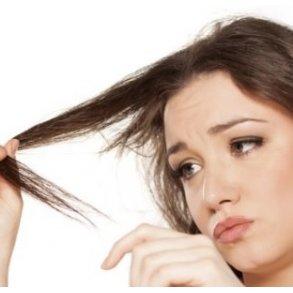 Skadet, slidt hår