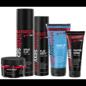Style Sexy Hair - produkter til styling af din frisure