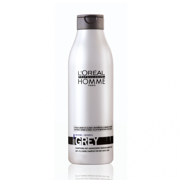 L'oréal Homme Anti-aging grey Shampoo 250 ml