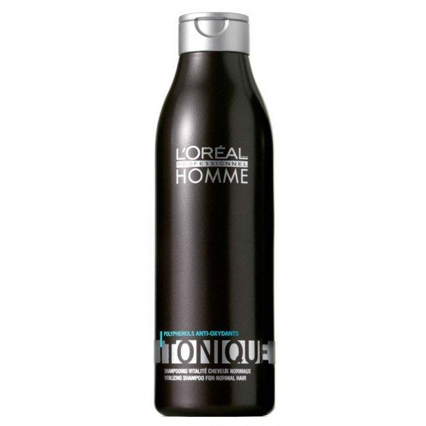 L'oréal Homme Tonique Shampoo 250 ml.