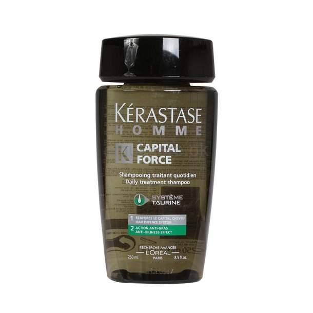 Kerastase Homme Capital Force Anti-Gras 250 ml.