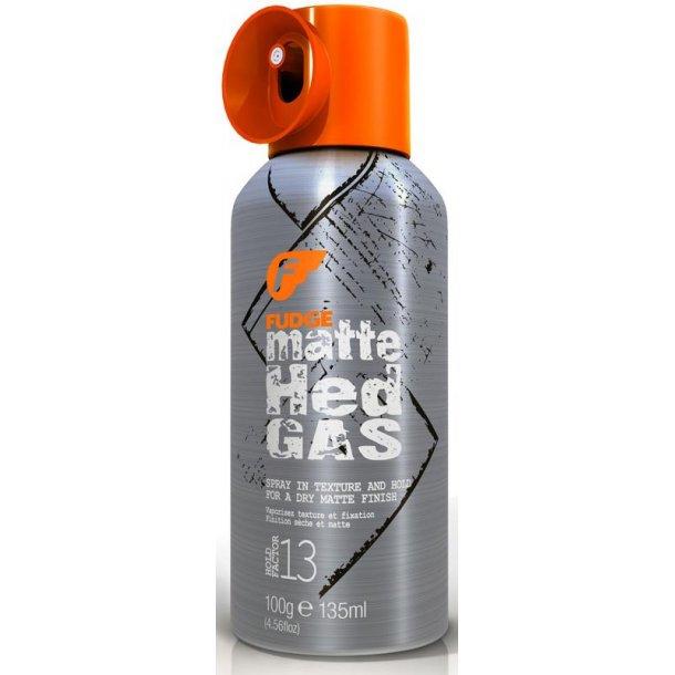 Fudge Matte Hed Gas Texture Spray 135 ml.