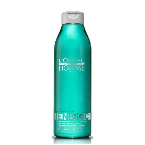 L'oréal Homme Energic Shampoo 250 ml.