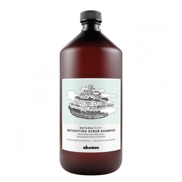 Davines NaturalTech Detoxifying Scrub shampoo 1000 ml