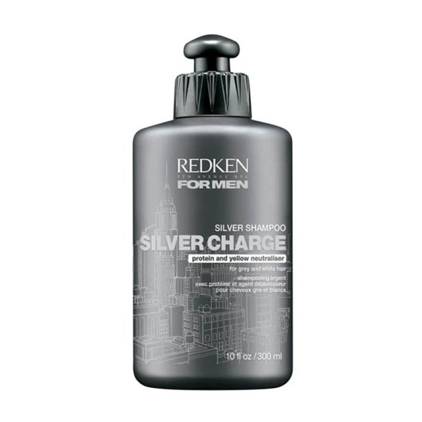 Redken for Men Silver Charge Shampoo 300 ml.